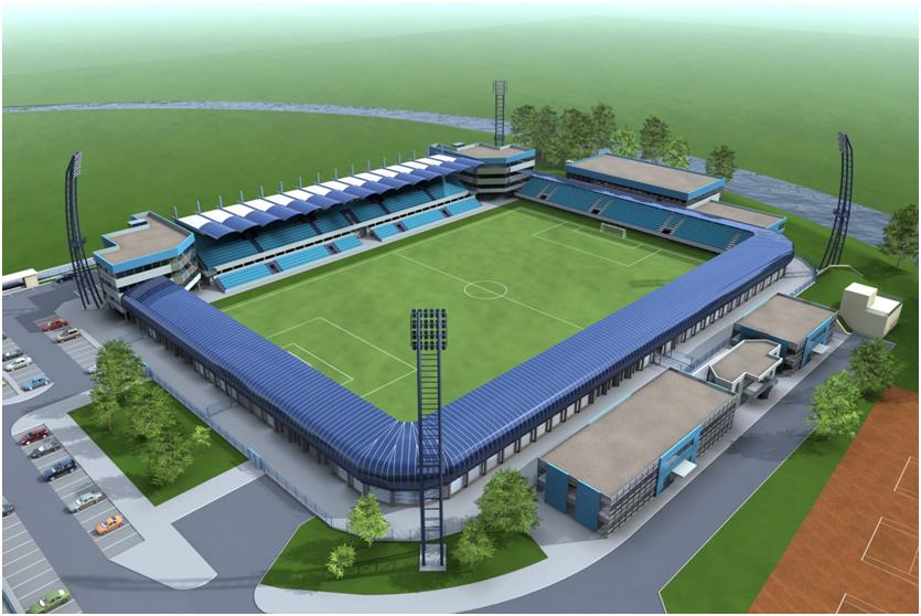 Modernizácia futbalového štadióna FC Nitra